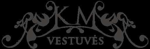 KM Vestuvės logotipas